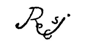 firma de Rodrigo de Cifuentes